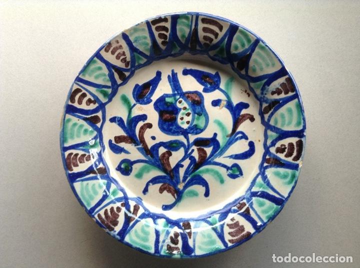 PLATO FAJALAUZA (1ªMITAD S.XX) (Antigüedades - Porcelanas y Cerámicas - Fajalauza)