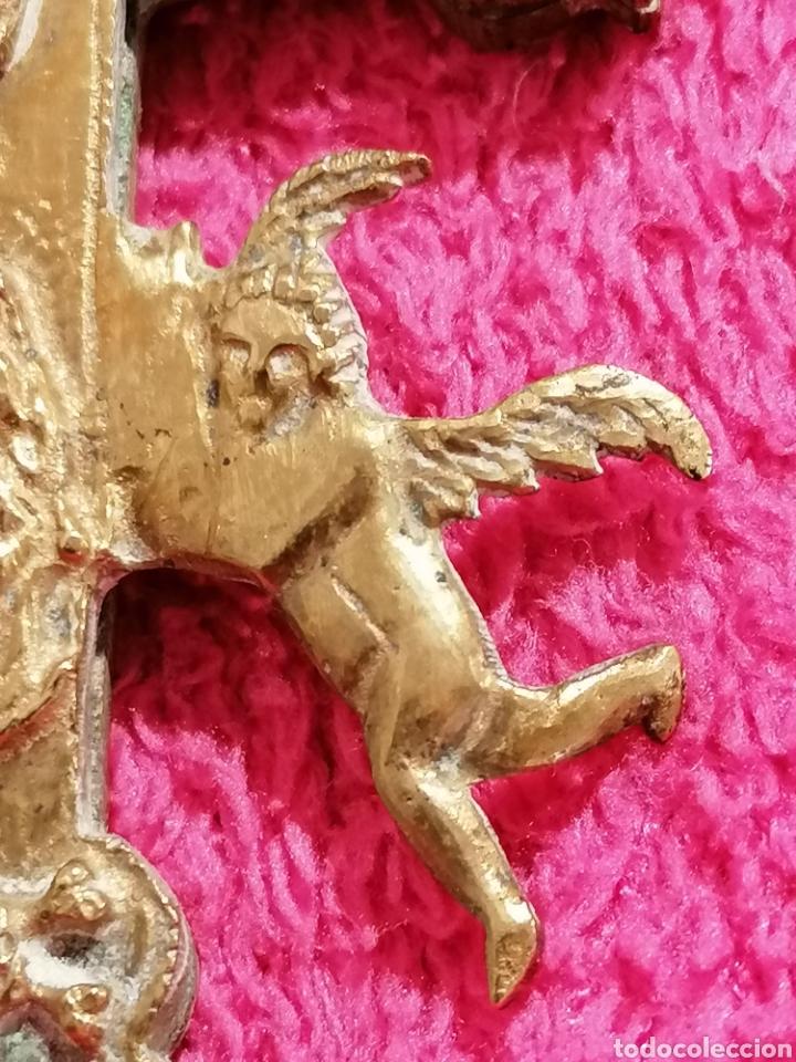 Antigüedades: CRUZ DE CARAVACA SIGLO XVIII - Foto 5 - 206495868