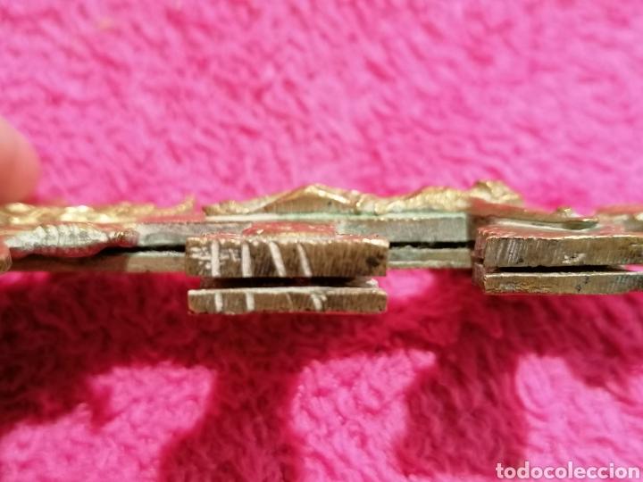 Antigüedades: CRUZ DE CARAVACA SIGLO XVIII - Foto 17 - 206495868
