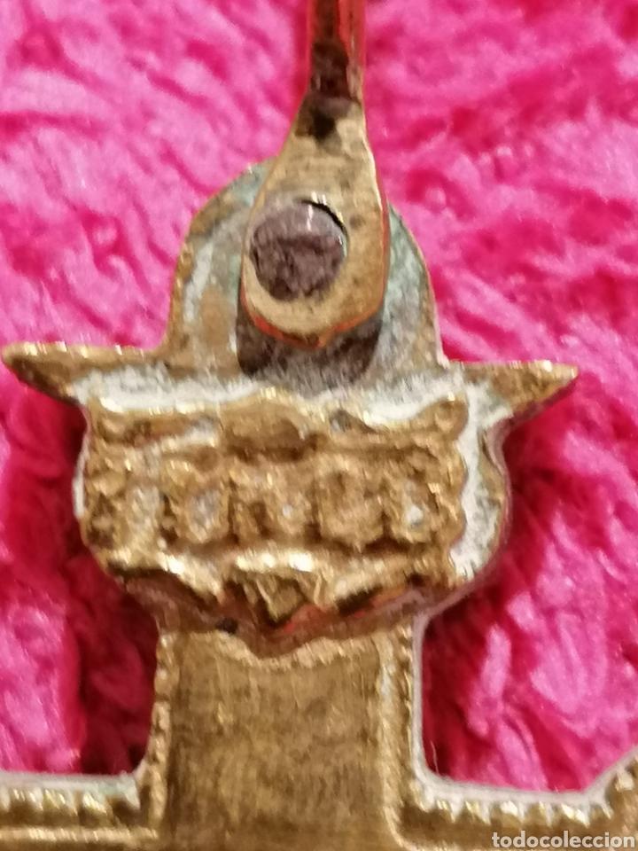 Antigüedades: CRUZ DE CARAVACA SIGLO XVIII - Foto 20 - 206495868