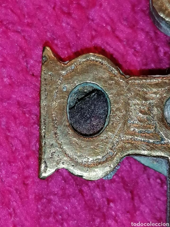 Antigüedades: CRUZ DE CARAVACA SIGLO XVIII - Foto 21 - 206495868