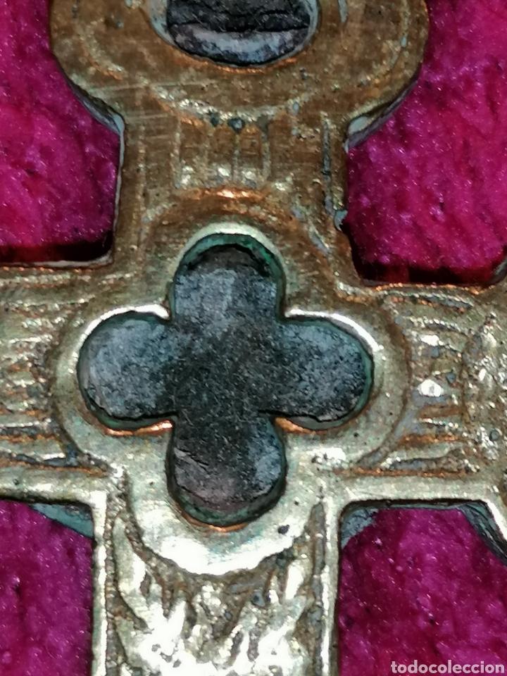 Antigüedades: CRUZ DE CARAVACA SIGLO XVIII - Foto 24 - 206495868