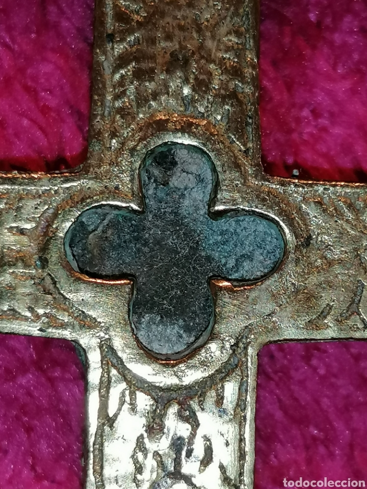 Antigüedades: CRUZ DE CARAVACA SIGLO XVIII - Foto 26 - 206495868