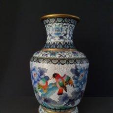 Antigüedades: JARRON ORIENTAL (CLOISSONE). Lote 206498558
