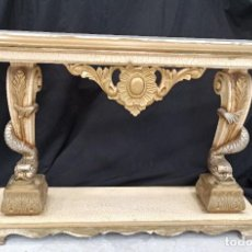 Antigüedades: MESA DE ENTRADA DECORACIÓN BARROCA. PF. Lote 206503368