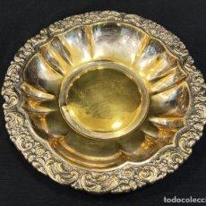 Antigüedades: BANDEJA FRUTERO. DORADA. C3. Lote 206503828