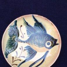Antigüedades: PAREJA DE PLATOS DE CERÁMICA DECORATIVA. FIRMADOS.. Lote 206508952