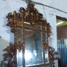 Antigüedades: ESPEJO DORADO. Lote 206515567