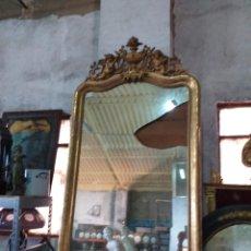 Antigüedades: ESPEJO DORADO. Lote 206517457