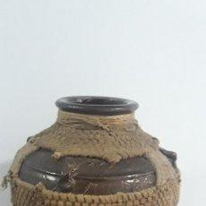 Antigüedades: MUY RARO TIBOR ESMALTADO CON CARAS EN RELIEVE CHINO ,SIGLO XVIII,DE USO. Lote 206518891