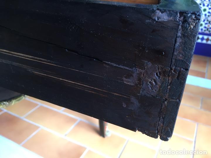 Antigüedades: ESPECTACULAR MESA DE DESPACHO FRANCESA ESTILO BOULLÉ SIGLO XIX - Foto 11 - 206543216