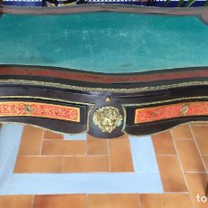 Antigüedades: ESPECTACULAR MESA DE DESPACHO FRANCESA ESTILO BOULLÉ SIGLO XIX. Lote 206543216