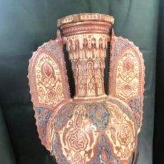 Antigüedades: UN JARRÓN, GRAN VASIJA DEL 19 INSPIRACIÓN ARABE , ALHAMBRA .. Lote 206550558