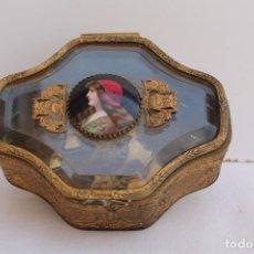 Antigüedades: JOYERO DE BRONCE ORMOLU FRANCES SIGLO XIX. Lote 206556536