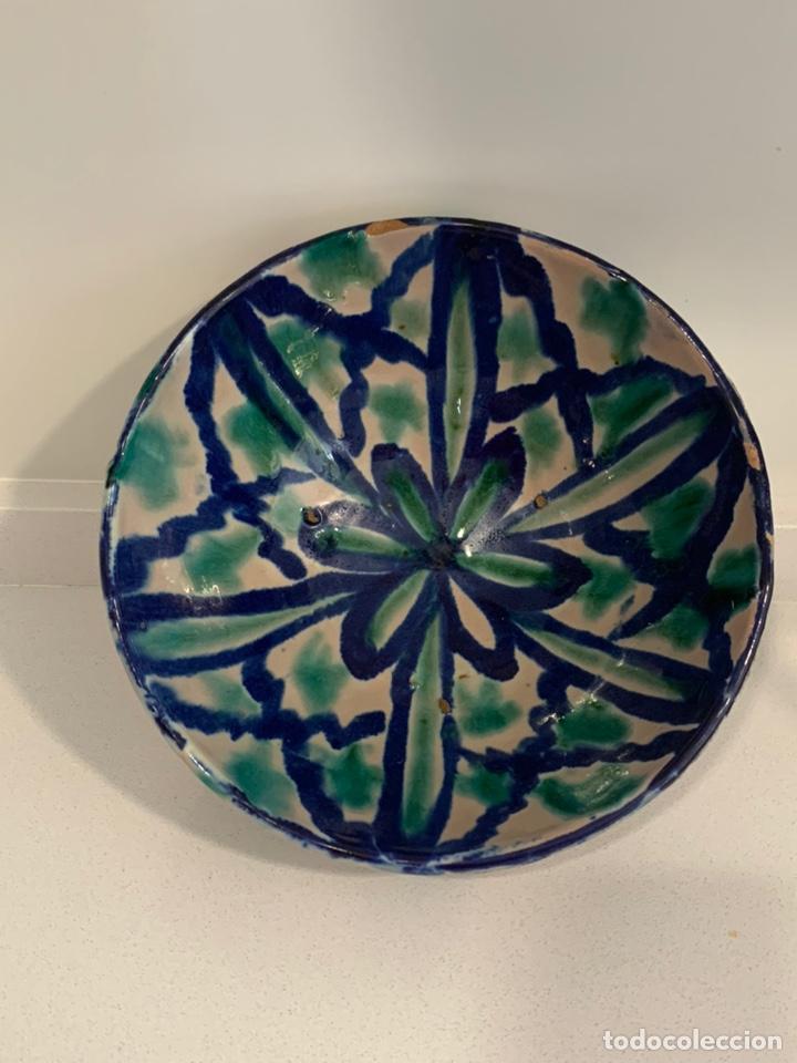 ANTIGUO CUENCO FAJALAUZA (Antigüedades - Porcelanas y Cerámicas - Fajalauza)