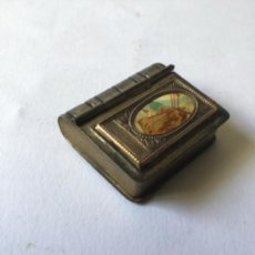 Antigüedades: ANTIGUO LIBRO RELICARIO O GUARDA ROSARIO , SIGLO 19 - ISABELINO -SAN ANTONIO. Lote 206577273
