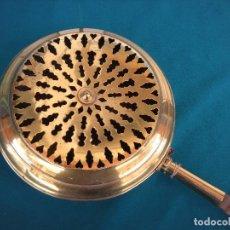 Antigüedades: ANTIGUO CALIENTACAMAS ESPAÑOL. Lote 206586855
