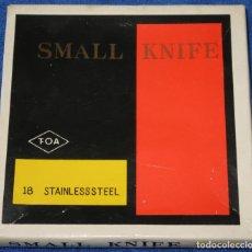 Antigüedades: JUEGO DE CUCHILLOS DE APERITIVO - SMALL KNIFE - FOA (AÑOS 60). Lote 206596977