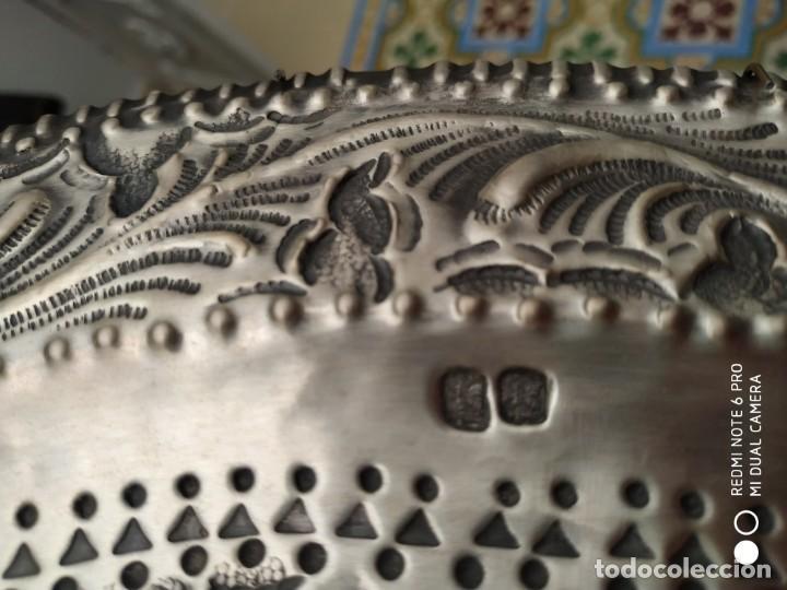 Antigüedades: BANDEJA DE PLATA DE LEY - Foto 3 - 51626741
