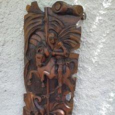 Antigüedades: SAN JORGE SANT JORDI Y EL DRAC. Lote 206776280