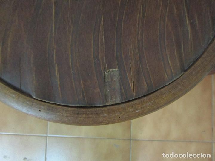 Antigüedades: Conjunto de 5 Sillas de Café - Silla Estilo Thonet - Madera de Haya - Años 30-40 - Foto 11 - 206784538