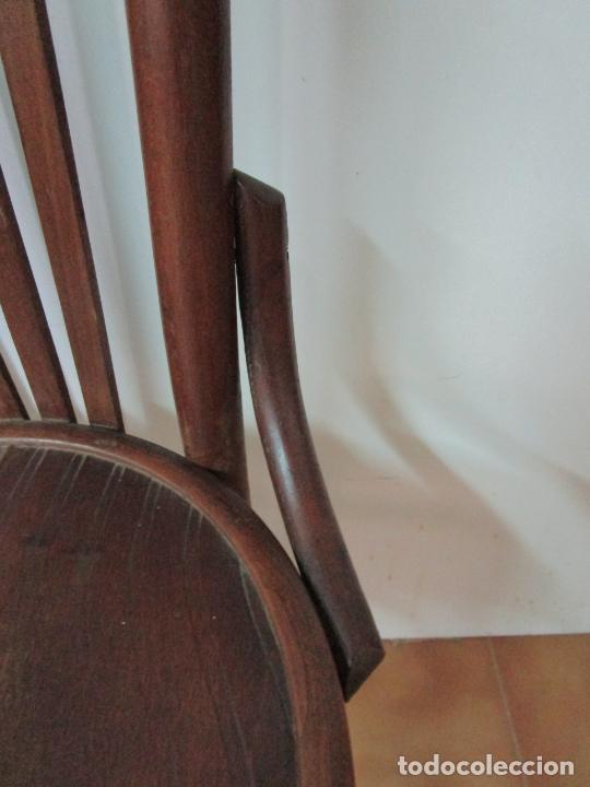 Antigüedades: Conjunto de 5 Sillas de Café - Silla Estilo Thonet - Madera de Haya - Años 30-40 - Foto 14 - 206784538