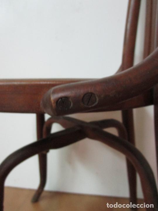 Antigüedades: Conjunto de 5 Sillas de Café - Silla Estilo Thonet - Madera de Haya - Años 30-40 - Foto 17 - 206784538