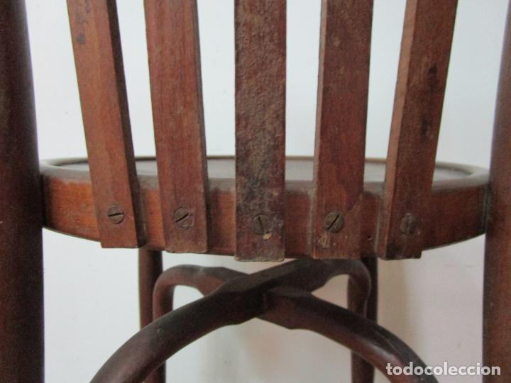 Antigüedades: Conjunto de 5 Sillas de Café - Silla Estilo Thonet - Madera de Haya - Años 30-40 - Foto 19 - 206784538