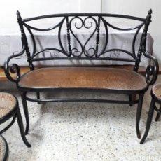 Antigüedades: SILLAS Y SILLON ESTILO THONET DE FISCHEL. Lote 206794018