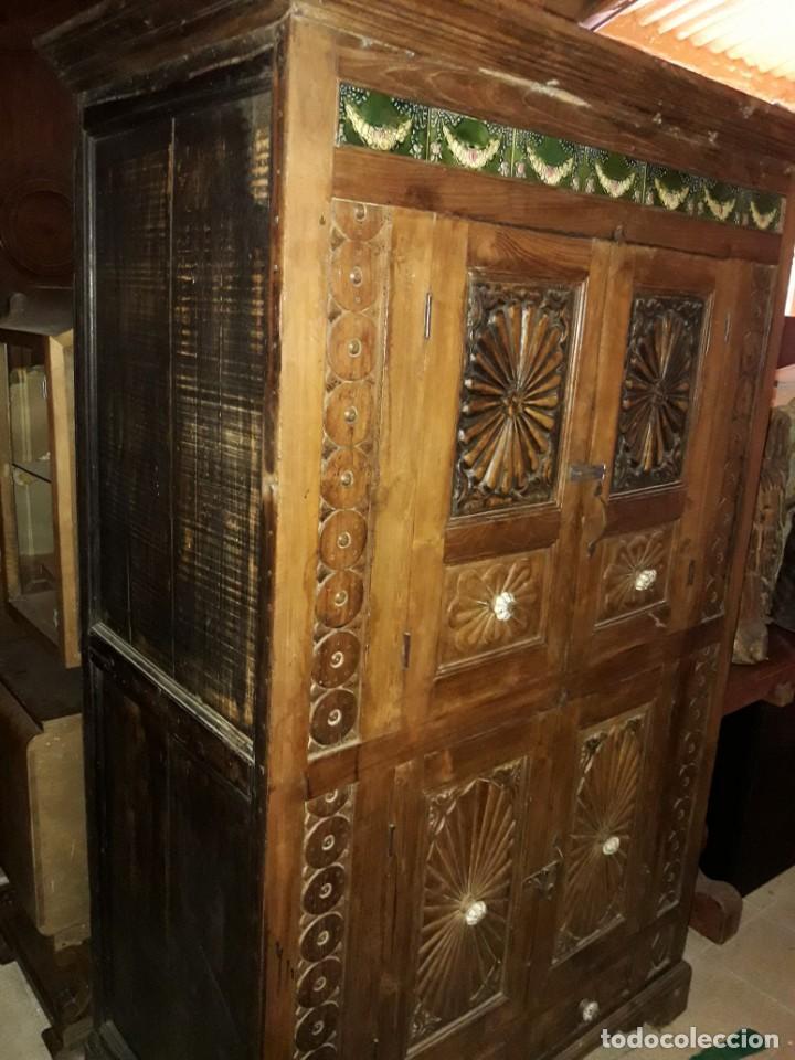 Antigüedades: Armario - Foto 4 - 206805838