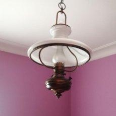 Antiquités: LAMPARA TIPO QUINQUE AÑOS 60. Lote 206830421