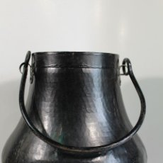 Antigüedades: ANTIGUA HERRADA VASCA DE COBRE OLLA SIGLO XIX. Lote 206855880