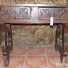 Antigüedades: MESA DE NOGAL. Lote 206860567