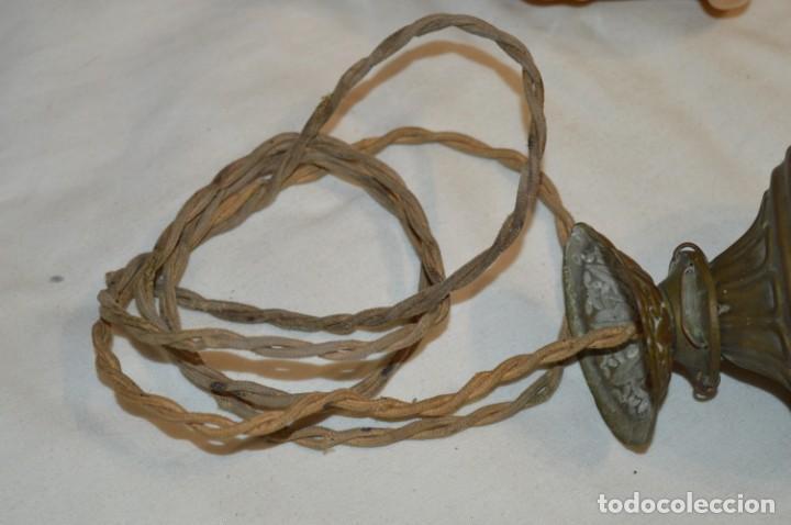 Antigüedades: Lámpara ART NOUVEAU // Art Déco - Estilo MODERNISTA / Muy antigua, preciosa ¡Rara, mira fotos! - Foto 5 - 206877676