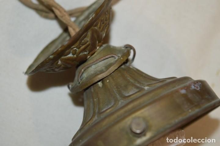 Antigüedades: Lámpara ART NOUVEAU // Art Déco - Estilo MODERNISTA / Muy antigua, preciosa ¡Rara, mira fotos! - Foto 6 - 206877676