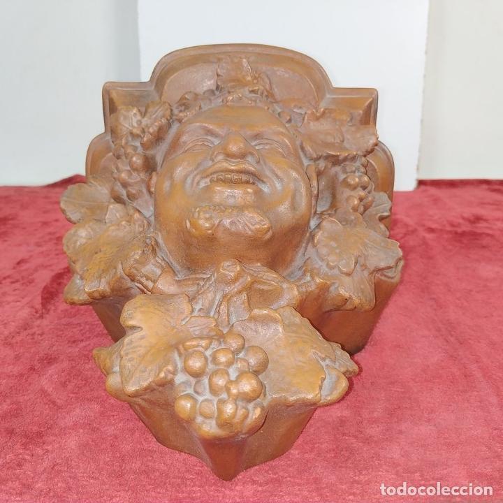 Antigüedades: MENSULA. TERRACOTA LUCENENSE. LUCENA. ESPAÑA. SIGLO XIX - Foto 4 - 206884688