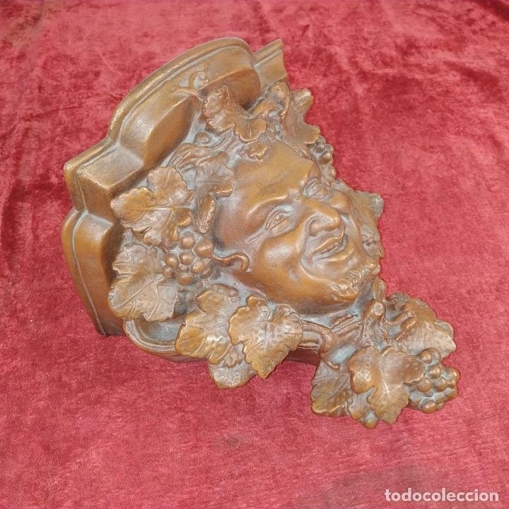 Antigüedades: MENSULA. TERRACOTA LUCENENSE. LUCENA. ESPAÑA. SIGLO XIX - Foto 6 - 206884688