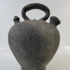 Antigüedades: ANTIGUO BOTIJO - CARTIR, CERÁMICA CATALANA DE QUART - S. XIX-XX. Lote 206903575