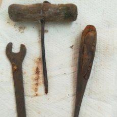 Antigüedades: LOTE HERRAMIENTAS ANTIGUAS. Lote 206904072