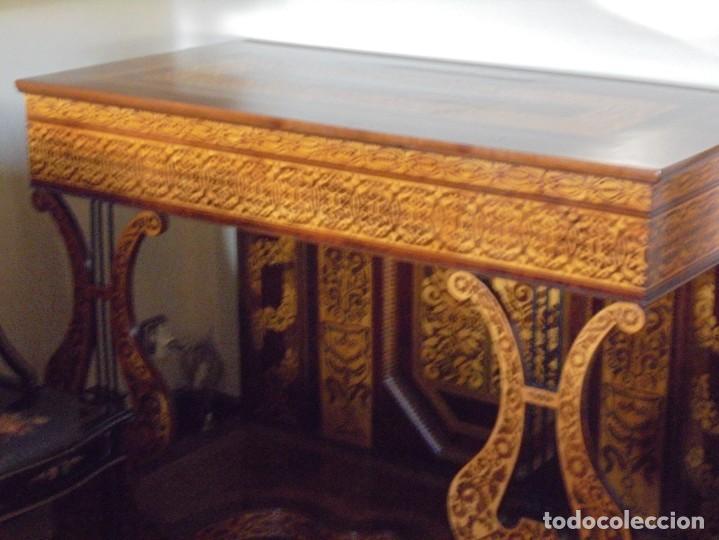 UNICA CONSOLA HOLANDESA DEL SIGLO XIX (Antigüedades - Muebles Antiguos - Consolas Antiguas)