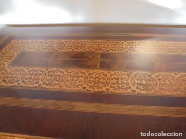 Antigüedades: unica consola holandesa del siglo xix - Foto 3 - 206924273
