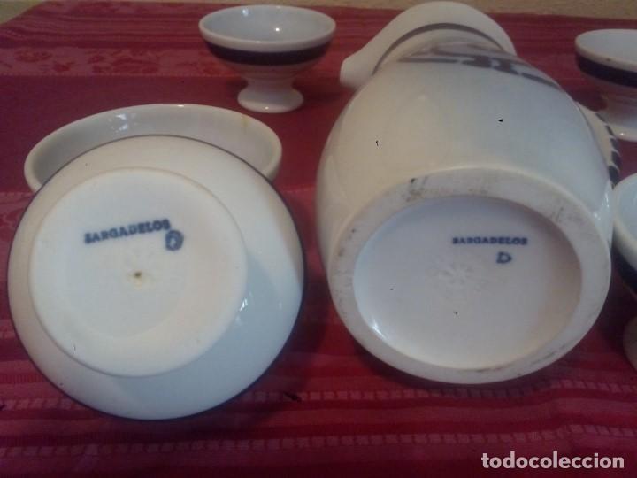 Antigüedades: Juego de ribeiro de cerámica de Sargadelos - Foto 2 - 206926498