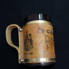 Antigüedades: JARRA COAT OF ARMS R C M P CANADA. Lote 206943755