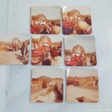 Antigüedades: LOTE 7 FOTOGRAFÍAS ALMERÍA VIRGEN DE LA CABEZA MONTEAGUD ALMERÍA. AÑOS 70. Lote 206950098