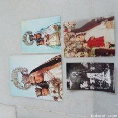 Antigüedades: LOTE 4 POSTALES ALMERÍA VIRGEN DE LA CABEZA MONTEAGUD. AÑOS 70. Lote 206950182