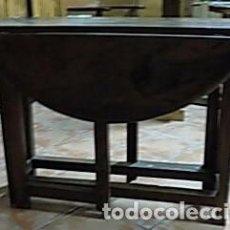 Antigüedades: MESA NOGAL. Lote 206960548