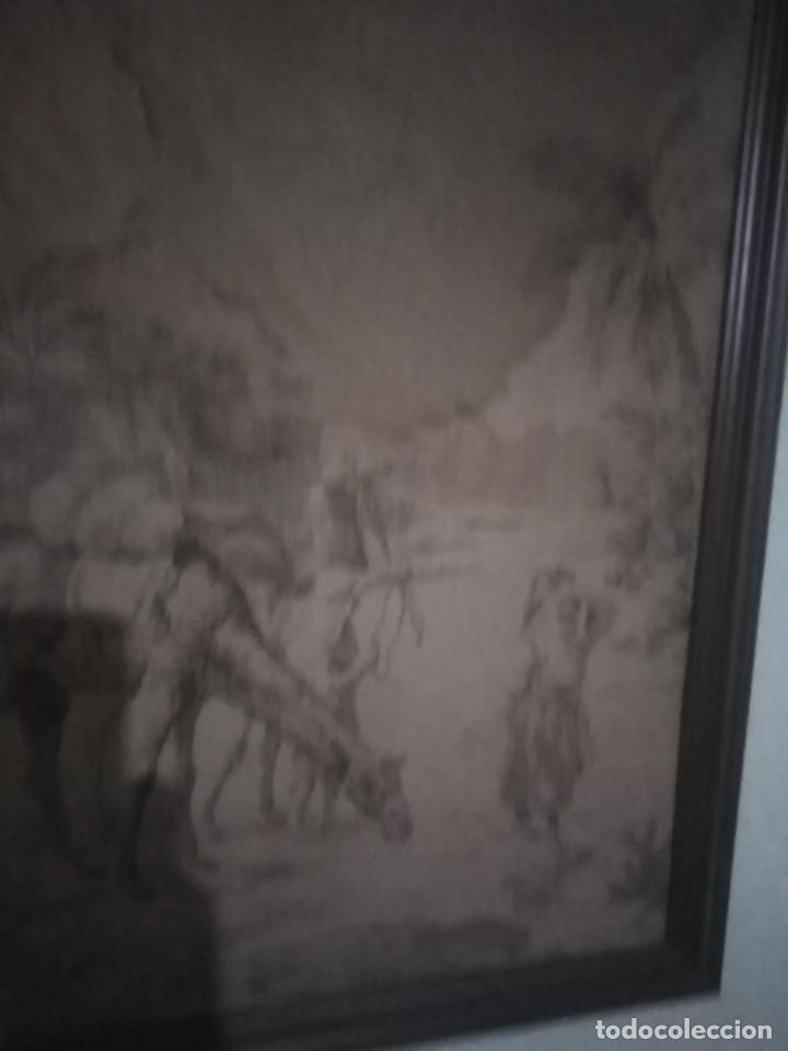 Antigüedades: ANTIGUO TAPIZ - Foto 8 - 206987888