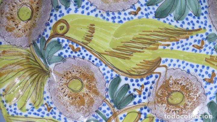 Antigüedades: PLATO DE CERAMICA. ARENAS. MANISES. SIGLO XIX - Foto 2 - 206989667