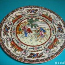 Antigüedades: ANTIGUO PLATO DE PORCELANA CHINA, 14CM.. Lote 206999157