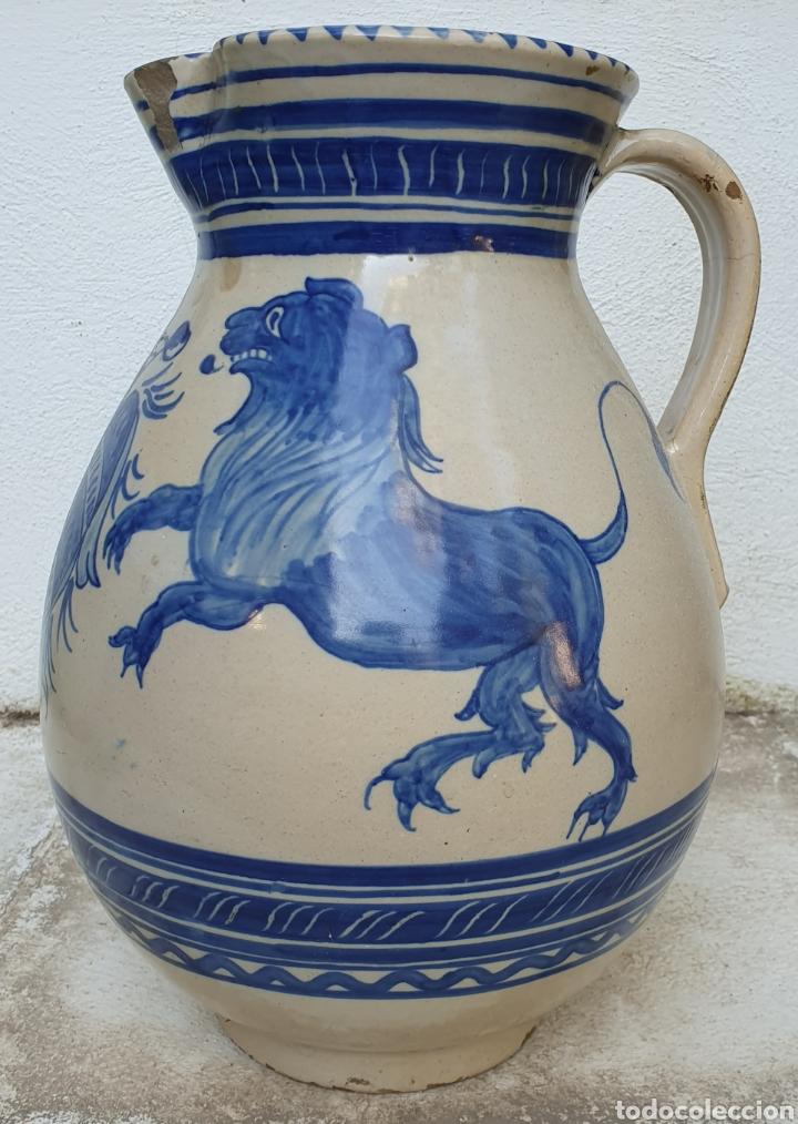 JARRA CERAMICA DE RUIZ DE LUNA (Antigüedades - Porcelanas y Cerámicas - Talavera)